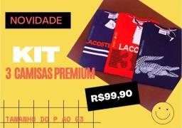 Kit de Camisas PREMIUM ( P ao XXXG)