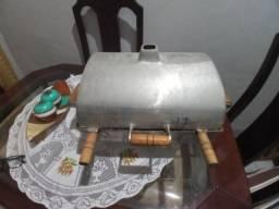 Churrasqueira de aluminio