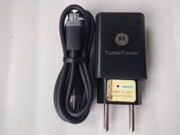 Carregador turbo Power V8 micro USB original Motorola ?