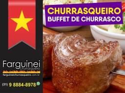 Serviço de Churrasqueiro / Buffet de Churrasco em BH e região | Churrasco em Casa, Eventos