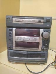 aparelho de som aiwa nsx f9