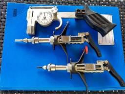 Kit jogo de seringa McLintock + cutímetro +cinturão de couro