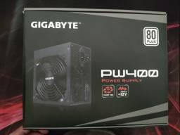 Fonte Gigabyte PW400 - 80 Plus Silver