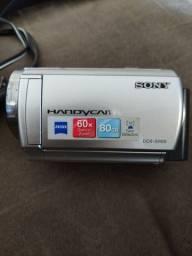Camera filmadora Sony DCR-SR68 (com defeito)