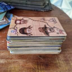 100 cartões telefônicos variados para coleção