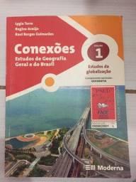 Vendo livro de geografia geral e do Brasil