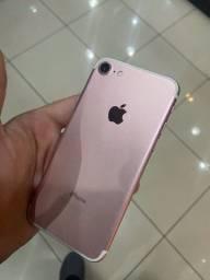 IPHONE 7 ROSE (TROCO C VOLTA MINHA)
