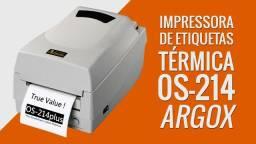 Impressora argox 214 plus nova com garantia