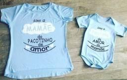 Blusa mãe e filho (a)