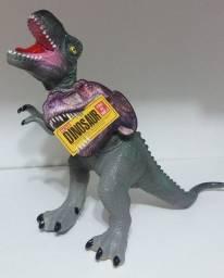 Dinossauro De Borracha Macia 60cm Grande Jurassic Park Bebê