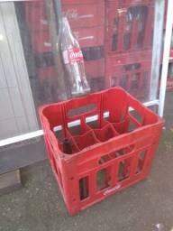 Caixa de garrafas coca 1 litro