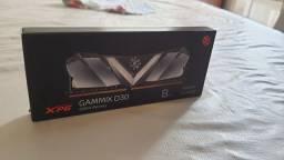 Memória XPG Gammix D30, 8GB, 3200MHz, DDR4<br><br>