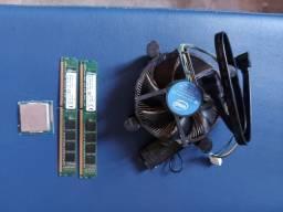Memória Ram 4g Kingston ddr3 e Processador intel I5 3330