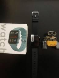 Smartwatch Colmi P8 Lançamento 2021 Medidor de Caminhada Medidor Cardíaco Saúde FitPro