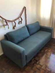 Sofá azul Tok Stok