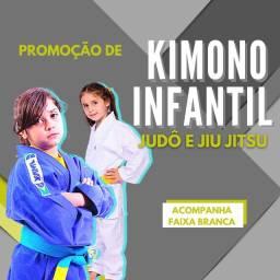 Kimono Infantil Judô / Jiu Jitsu