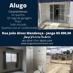 Alugo casa no janga - 02 quartos R$ 800,00