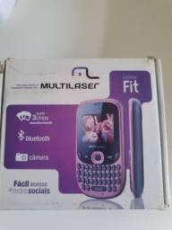 Celular Fit 3 Chips Multilaser