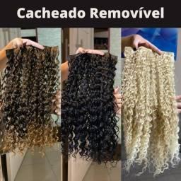 Cacheado Removível<br><br>