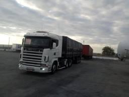 Scania 124 360 2001 carreta randon 2001