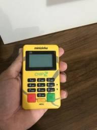 Máquina de Cartão de Crédito e Débito - Minizinha chip 2