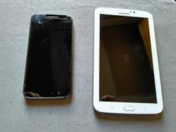 Moto g 4 play / Galaxy tab 3 / 4 capinhas /