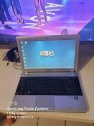 Vendo notebook i3 Samsung bem conservado valor 1450