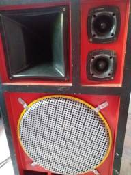 Caixa de som potente de alta qualidade