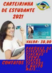 """""""CARTEIRA MEIA ENTRADA 2021"""