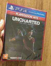 Uncharted the lost legacy Ps4 lacrado novo português dublado