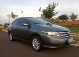 Honda City 2013 Automático + Couro + Baixo KM+ IPVA 2021