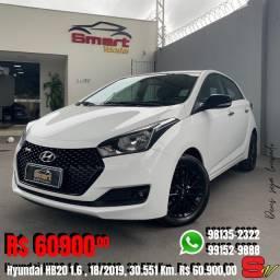 Smart Veículos - Hyundai HB20 1.6 RSPEC, 18/2019, 30.551 Km. R$ 60.900,00