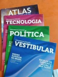 Livro de estudos pra vestibular e Enem e concursos publico