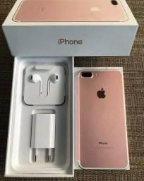 iPhone 7 plus 128 gigas novo lacrado na caixa com garantia
