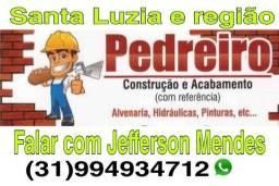 Jefferson PEDREIRO diária e empreitada