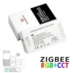 Controlador De Fita Led Zigbee Gledopto Rgb + Cct 2ID