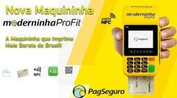 Maquininha de Cartão - Moderninha Pro Fit - Pag Seguro
