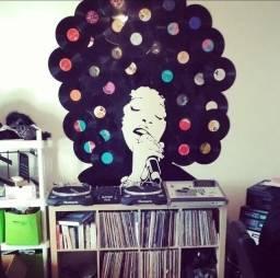 Título do anúncio: Discos de Vinil com capa (LP) grande quantidade (decoraçao/ artesanato/ reciclagem)
