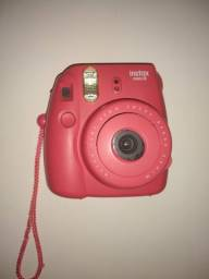 Câmera instax rosa