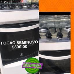 FOGÃO SEMINOVO PRONTA ENTREGA ACEITAMOS CARTOES