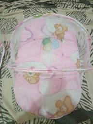 Caminha portátil para bebê
