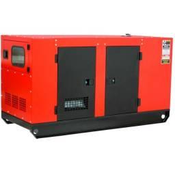 Gerador de Energia a Diesel 72 Kva Trifásico 110-220v Silenciado (NOVO)