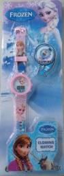 Título do anúncio: Relógio Frozen com Luz laterais