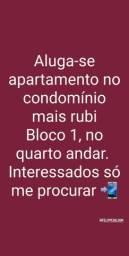 Aluga-se apartamento condomínio Mais Rubi R$700,00