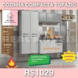 ARMÁRIO DE COZINHA COMPACTA TOPÁZIO