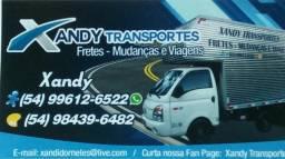 FRETES,MUDANÇAS E VIAGENS xandy transportes