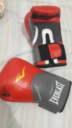 Luva Muay Thai Everlast Elite Vermelha