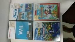 Jogos de Nintendo Wii (25 reais casa)