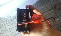 Conversor para caminhão 24 volts para 12 volts