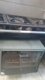 Fogão industrial 3 bocas com forno industrial
